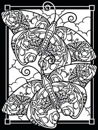 butterfly colouring pages online coloring pictures for adults