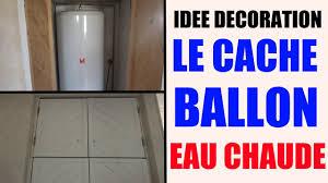 comment cacher une chaudi鑽e dans une cuisine cache ballon d eau chaude idée décoration maison appartement