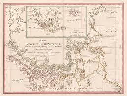 Map Of South America In Spanish Magellan Strait Historic Maps