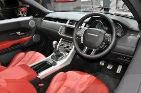 range rover coupe interior range rover reveals its evoque convertible previews driven
