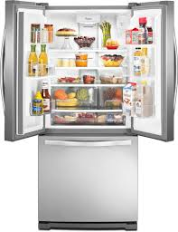 Whirlpool Inch French Door Refrigerator - stunning whirlpool apartment refrigerator pictures awesome