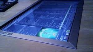Touch Screen Coffee Table by Control Your Media From Afar With A Diy Built In Coffee Table