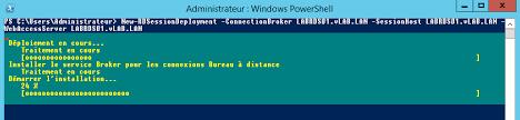 commande bureau a distance déployer rds 2012 r2 via windows powershell module ps