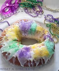 mardi gra cake mardi gras king cake what a girl eats