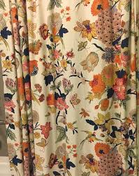Chapel Hill Shower Curtain by Pottery Barn Bettina Bird Peacock Spring Shower Curtain Hard To