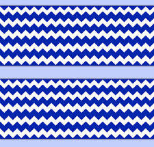 royal blue chevron nautical wallpaper border wall decals baby