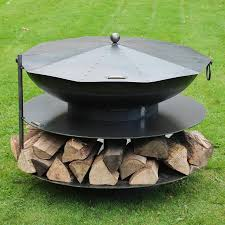 Outdoor Natural Gas Fire Pit Interior Steel Fire Pit Large Fire Pit Fire Ring Insert Metal Fire