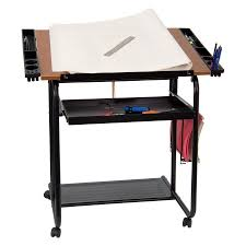 Walmart Drafting Table Adjustable Drawing And Drafting Table With Black Frame And Dual
