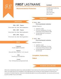 free cv resume templates 480 to 487 u2013 free cv template dot org