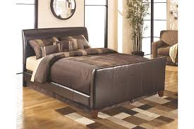 Upholstered Footboard Stanwick Queen Upholstered Bed Ashley Furniture Homestore