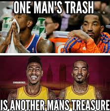Jr Smith Meme - jr smith jabs knicks after advancing to conference finals larry