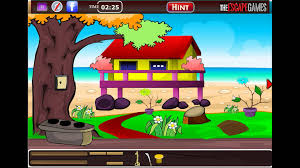 the escape games exciting beach escape walkthrough youtube