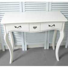 white dressing table u0026 mirror on stand shabby chic bedroom furniture