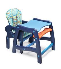 Toddler High Chairs Amazon Com Badger Basket Envee Baby High Chair With Playtable