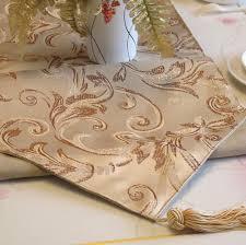 gold star table runner golden star textile coperation wholesale supplier of jacquard