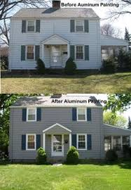 yes you can paint aluminum siding but you need to do these things