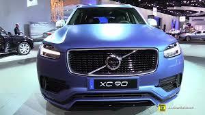 Volvo C30 Polestar Interior 2016 Volvo Xc90 T6 Awd R Design Exterior And Interior Walkaround