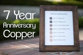 3 year anniversary gift ideas 7 yr wedding anniversary gift ideas wedding gallery