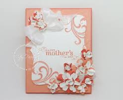How To Make Easy Paper Flowers For Cards - smash paper flowers video tutorial u0026 mother u0027s day card