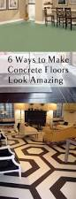 How To Paint A Cement Floor Basement 6 Ways To Make Concrete Floors Look Amazing Page 5 Of 7