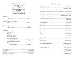 Wedding Program Templates Free Download Best Photos Of Wedding Program Templates Free Print Free