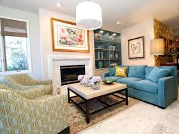 photos hgtv yellow and blue living room home sweet home pinterest