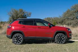 jeep compass limited red first drive 2017 jeep compass ny daily news