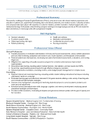 Sample Resume For Pediatric Nurse by Rn Entry Level Resume Resume For Your Job Application