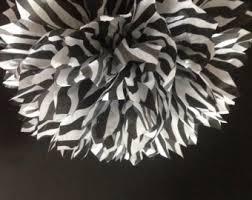 zebra tissue paper black zebra print etsy