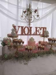 Shabby Chic Baby Shower Cakes by Elegant Shabby Chic Baby Shower Violet Pink Baby Shower Ideas