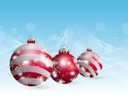 light blue decorative balls light blue christmas background with three christmas balls
