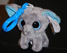 ty beanie boo peanut elephant key clip ebay