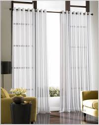 Blue And White Window Curtains Living Room Sheer Curtain Ideas Decorating Yellow Curtains White