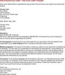 healthcare data analyst cover letter sample