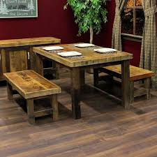 barnwood dining table at home and interior design ideas
