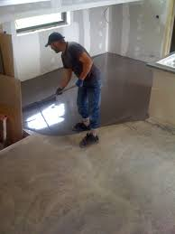 bureau beton ciré beton ciré