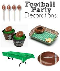 football party decorations birthday party ideas