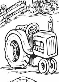 printable tractor coloring free pdf download http