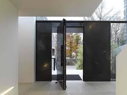 architect visit pivot door roundup modern front door front