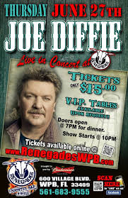 country music concerts ta fl 2013 concert announcement joe diffie to play renegades on june 27th