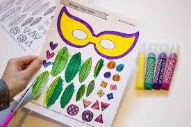 diy mardi gras masks diy mardi gras masks with printable made it