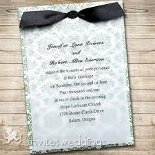 Wedding Invitations With Ribbon Wedding Invitations With Ribbon Haskovo Me