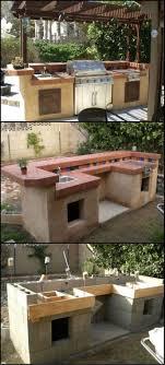 diy outdoor kitchen ideas outdoor kitchen steel frame kit rustic outdoor kitchen ideas