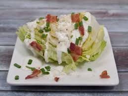 iceberg lettuce wedges with blue cheese dressing recipe