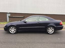 mercedes benz clk270 cdi manual coupe in wickersley south