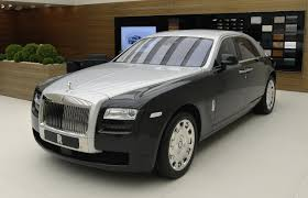 roll royce panda rolls royce ghost two tone bespoke option introduced