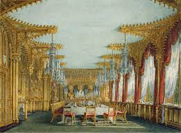 Holland House Dining Room Furniture by The Gothic Dining Room 1817 Charles Wild Royal College