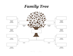 family tree template kids mmfttfamily tree template free