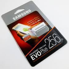 Memory Card Samsung 256gb samsung micro sd evo 256gb memory card review overclock