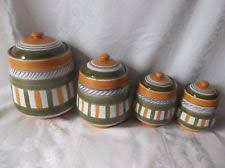 italian canisters kitchen terracotta canisters and jars ebay